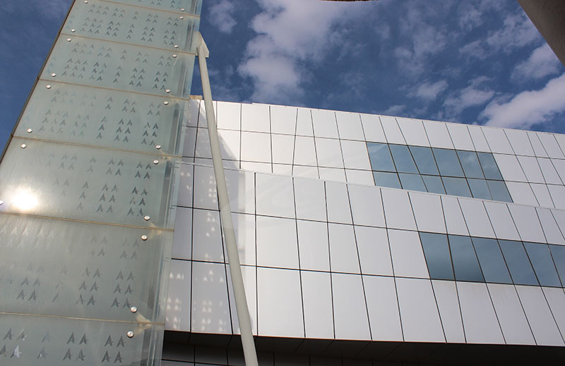 Acp Cladding Aluminium Composite Panels Glasscon Gmbh Architectural Building Skins Fa Ade