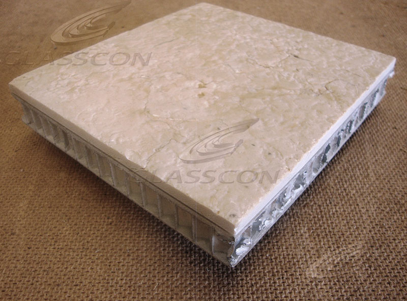 Honeycomb Sandwich Panel : Aluminium honeycomb core sandwich panels glasscon gmbh