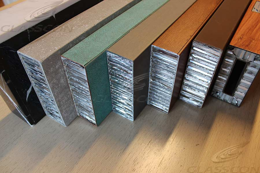 Aluminium Honeycomb Core Sandwich Panels Glasscon Gmbh