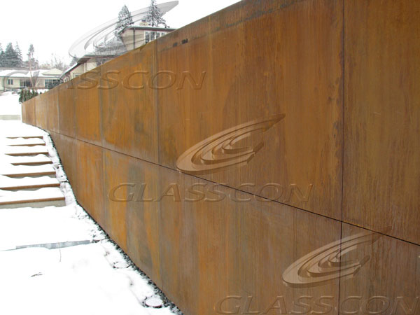 Cor Ten Panels For Walls Cladding Roofing Amp Siding