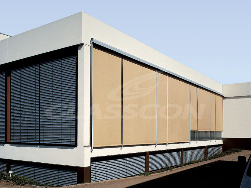 Exterior Awnings Blinds Systems Glasscon Gmbh Architectural