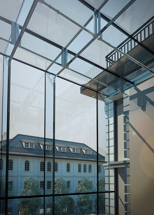 Total Structural Glazing System Glass : Structural glass facades glasscon gmbh architectural