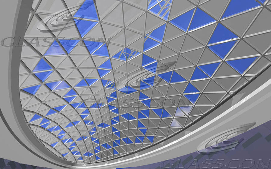 Structural Glazing Product : Structural glass skylights glazed roofs glasscon gmbh