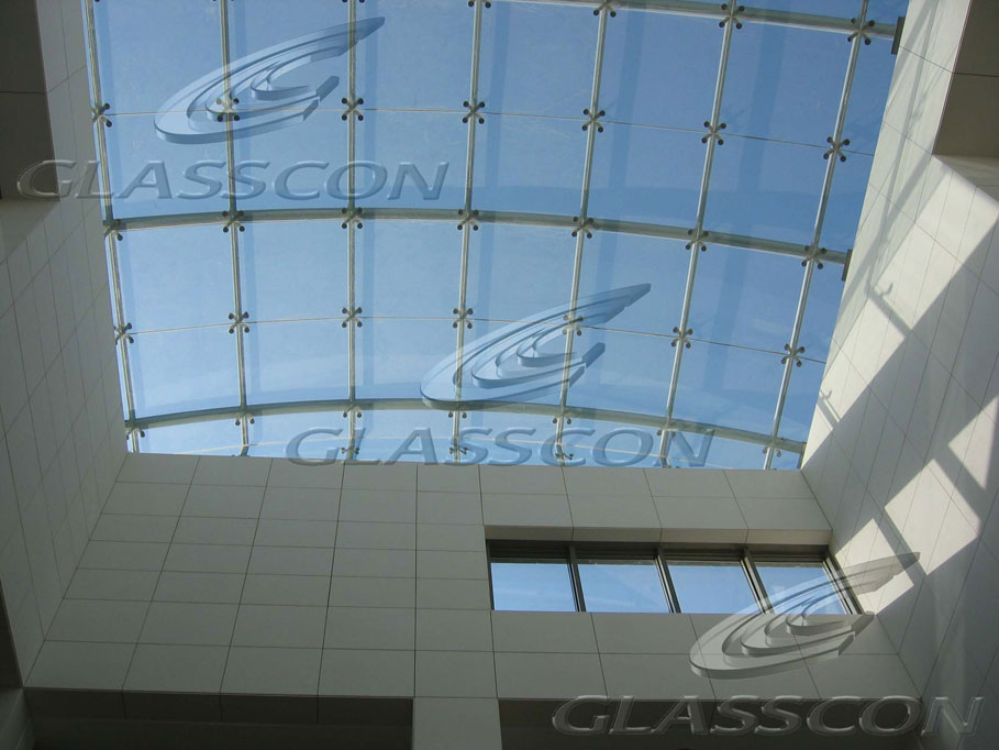 Structural glass skylights glazed roofs glasscon gmbh for Architectural skylights