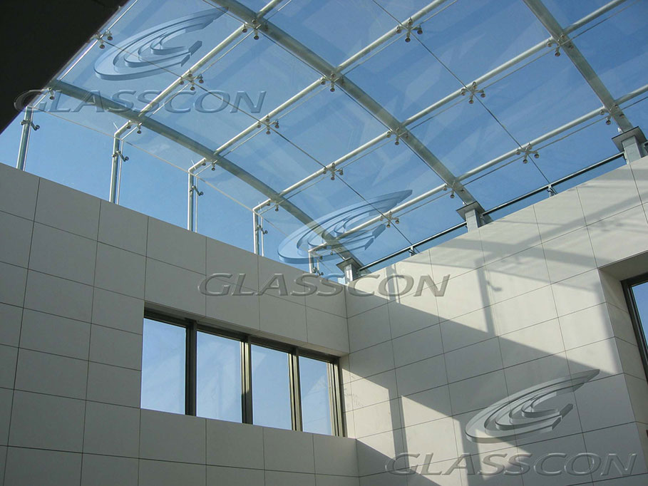 Structural Glass Canopy Systems : Structural glass skylights glazed roofs glasscon gmbh