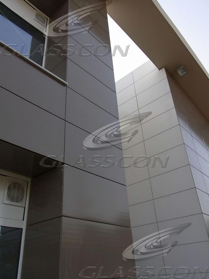 Ceramic Clay Tiles Cladding From The German Company
