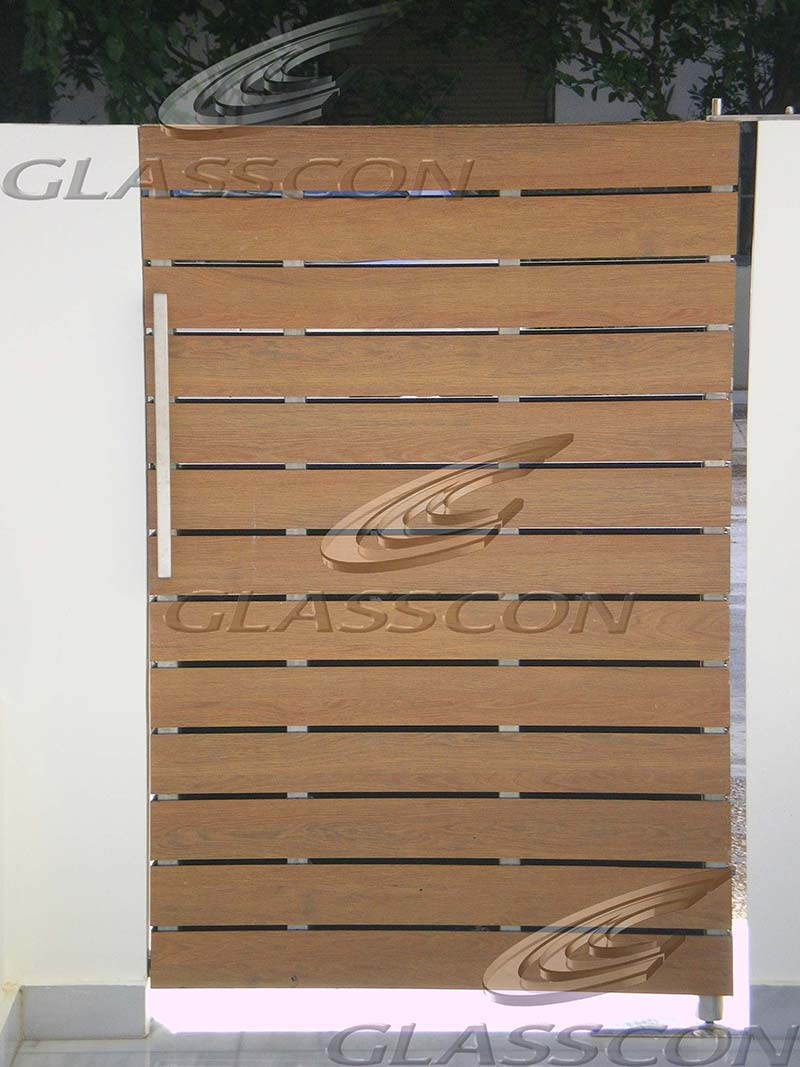 HPL Cladding, Doors & Fence in Residential Building | GLASSCON ...