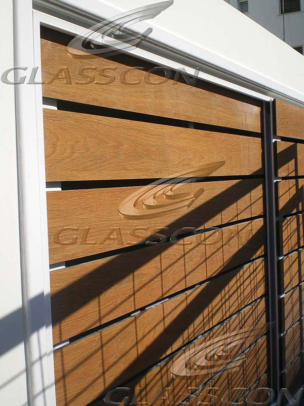 Hpl Cladding Doors Amp Fence In Residential Building