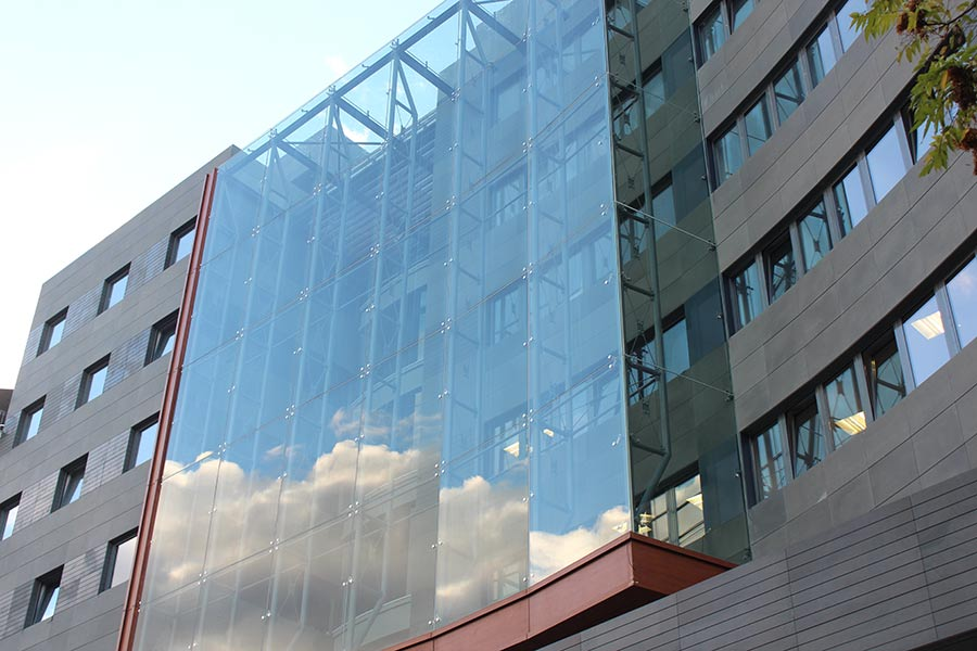 Office Building Skin Glasscon Gmbh Architectural
