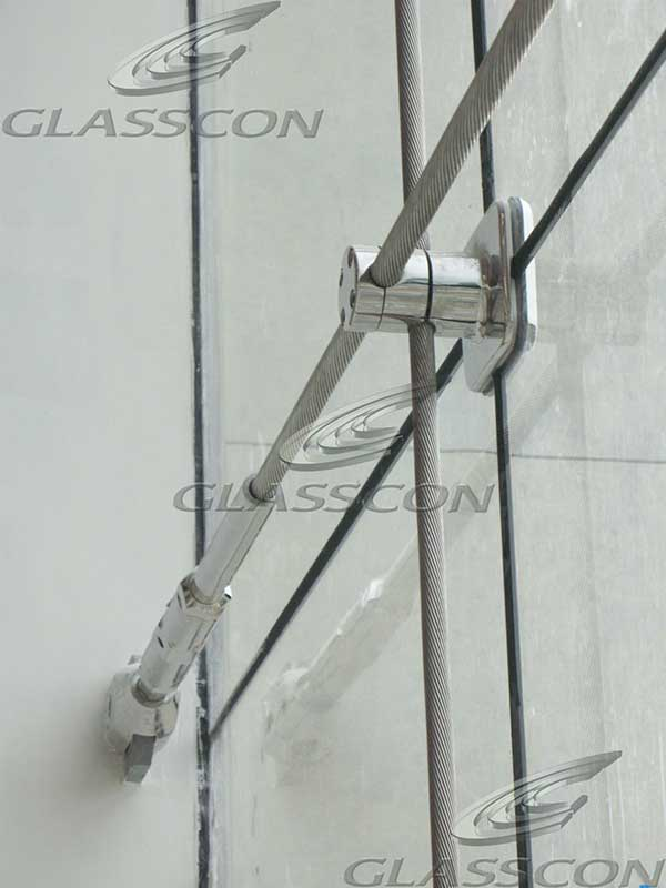 Architectural Building Skin Amp Cable Net Spider Glass
