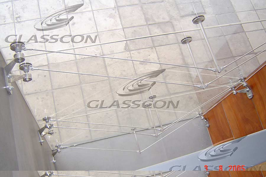 Spider Glass Wall : Spider glass curtain wall hpl cladding glasscon gmbh