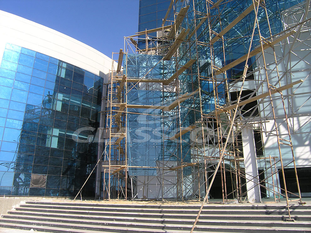 Curved Spider Glass Façade on Space Frame (Cairo/Egypt) | GLASSCON ...