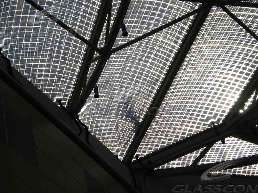 Shopping Mall Complex Etfe Air Cushion Roof Glasscon