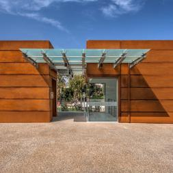 "Corten Steel Honeycomb Panels ""GLASSCON GHP ALU-CORTEN"""