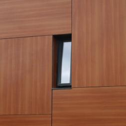 HPL / High Pressure Laminates ventilated rainscreens