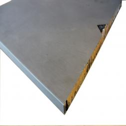 "Zinc Honeycomb Panels ""GLASSCON GHP ALU-ZINC"""