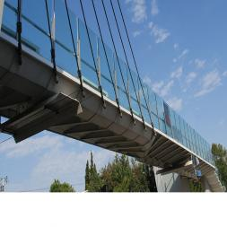 American College School Glass Bridge