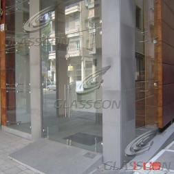 Spider Glass Curtain Wall & HPL Cladding