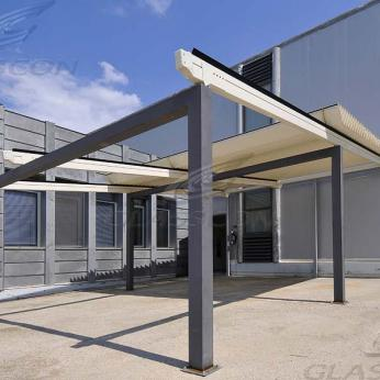 Aluminum Louver Retractable Pergolas