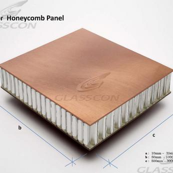 "Copper Honeycomb Panels ""GLASSCON GHP ALU-COPPER"""