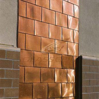 Copper Walls, Roofing & Siding Systems
