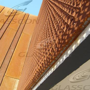 Cor-ten Panels for Walls, Cladding, Roofing & Siding
