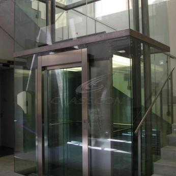 Glass Shafts For Elevators