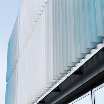 Motorized Aluminium Louvers & Shutters - Metal Shades