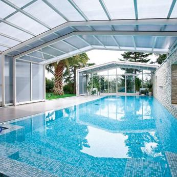 Lean-To Retractable Pool Enclosures