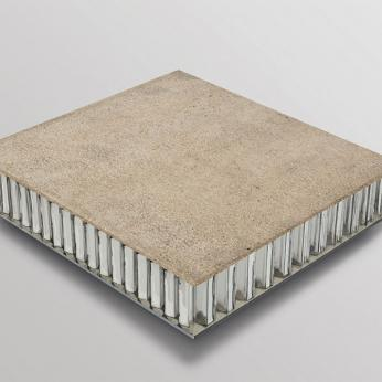 "Silica Sand Honeycomb Panels ""GLASSCON GHP ALU-SILICA"""