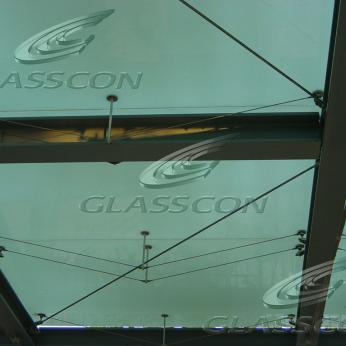 Spider Glass Curtain Walls - Bolted Point Fixed Glazing