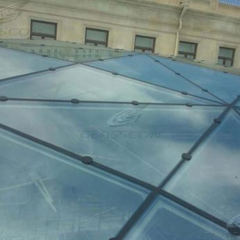Steel Glazed Roofs - Ballistic Skylights
