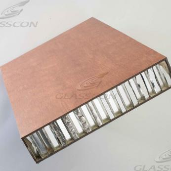 Wooden Honeycomb Solar Louvers
