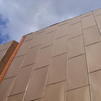 Zinc Metal Siding, Cladding & Roofing