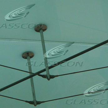 Suspended Spider Glass Canopies in Acropolis