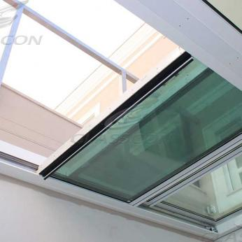 Motorized Ballistic Retractable Enclosure & Solar Blinds