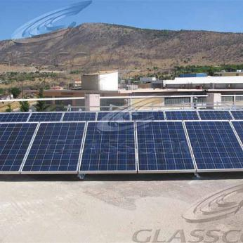 On-grid Rooftop Photovoltaic System of 65KW
