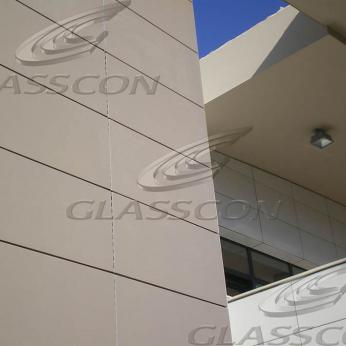 Terracotta Cladding with Ceramic Clay Tiles Rainscreens
