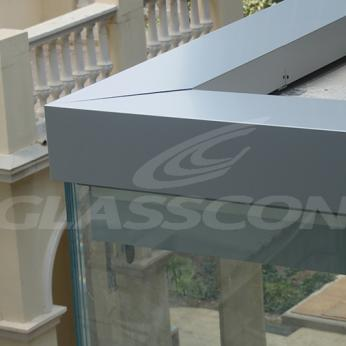 Custom Oversized Aluminium-Glass Curtain Wall