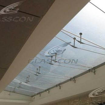 Architectural Building Skin & Cable Net Spider Glass Facade