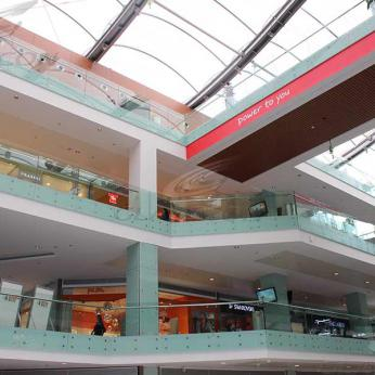 Shopping Mall Architectural Facade