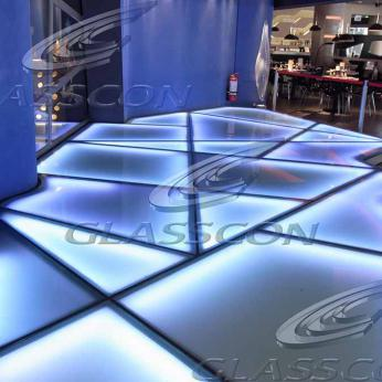 illuminated glass floor walkways glasscon gmbh