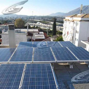 Residential Photovoltaic System on Rooftop