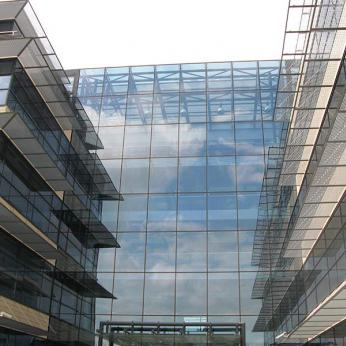 Ceramic Cladding - Spider Glass Curtain Wall Tension Rod