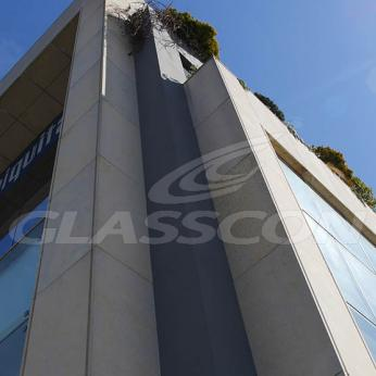 Spider Glass Curtain Wall on Steel Substructure Truss Glasscon 11.jpg