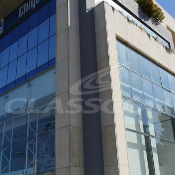 Spider Glass Curtain Wall on Steel Substructure Truss Glasscon 15.jpg