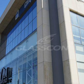 Spider Glass Curtain Wall on Steel Substructure Truss Glasscon 23.jpg