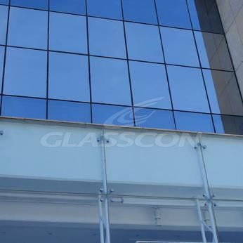 Spider Glass Curtain Wall on Steel Substructure Truss Glasscon 25.jpg