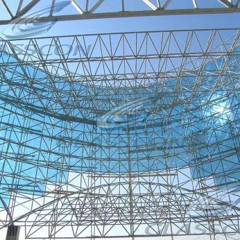 Spider Glass Curved Curtain Wall on MERO SPACE FRAME 3D TRUSS Glasscon 08.jpg