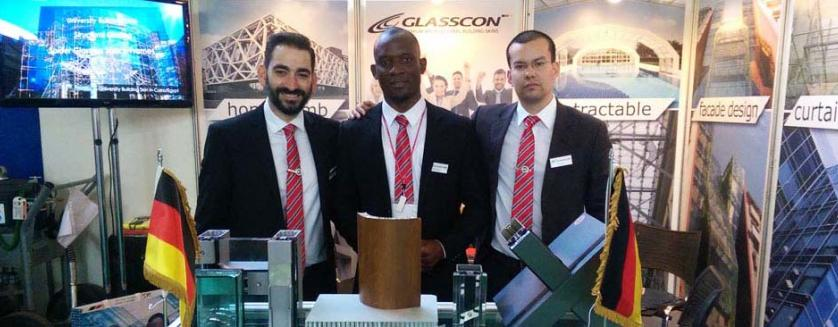 GLASSCON at PROJEKTA ANGOLA 2015 in Luanda